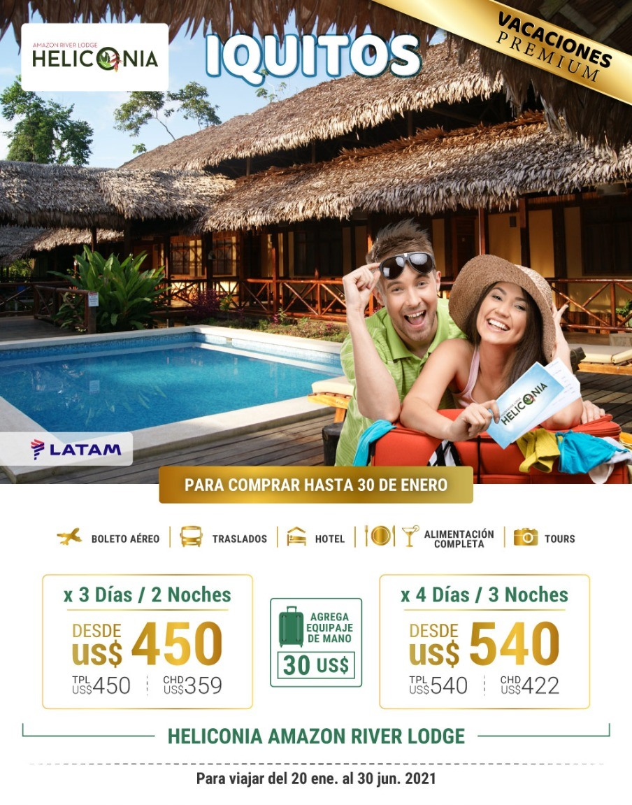 Iquitos con Heliconia Lodge