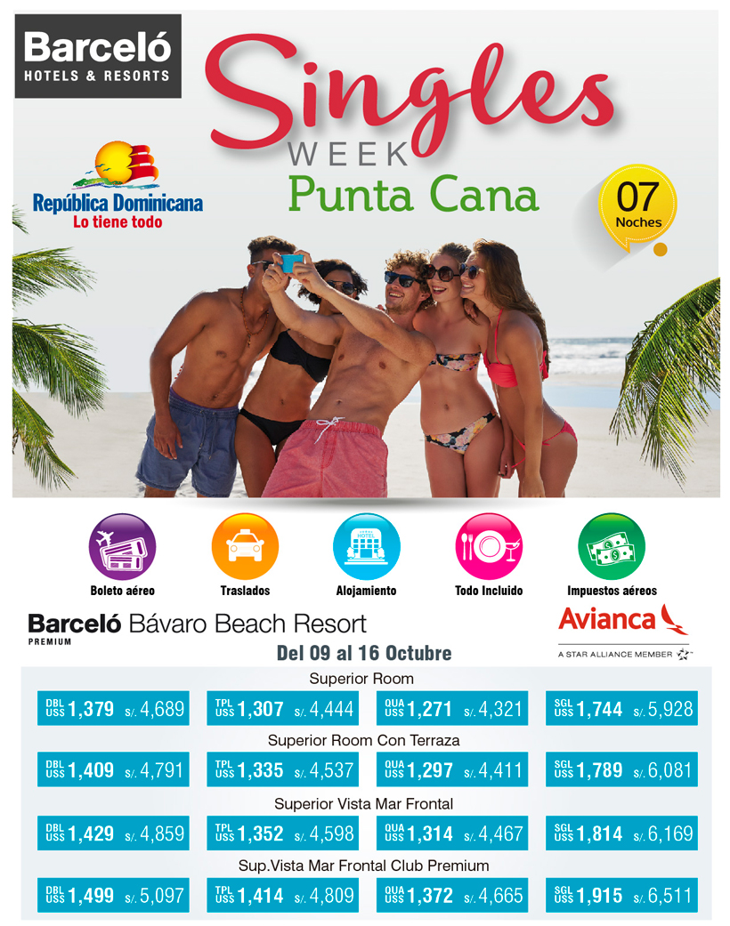 singles in cana One of the 7 best all-inclusive singles resorts in the caribbean and mexico,  breathless punta cana delivers las vegas in the caribbean with.